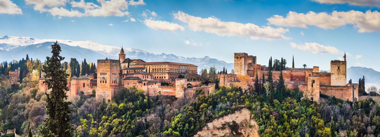 Vistas de la Alhambra y Sierra Nevada