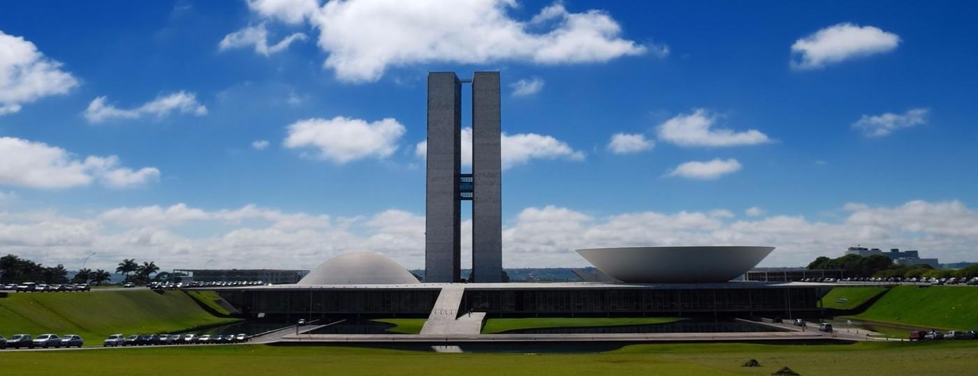 Vista do Planalto Central, em Brasília